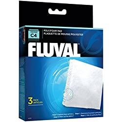 Fluval C4 Poly Foam Pad - 3-Pack