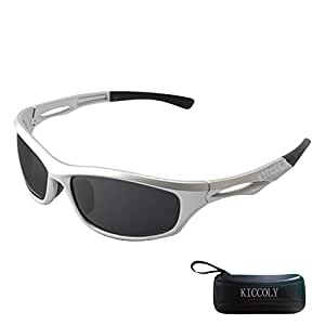 KICCOLY Gafas de Sol Deportivas Polarizadas para Hombre Esquiar ...