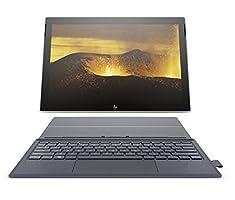 HP ENVY x2 12-inch Detachable Laptop with Stylus Pen and 4G LTE, Qualcomm Snapdragon 835 Processor, 4 GB RAM, 128 GB flash storage, Windows 10 (12-e091ms, Silver/Blue)