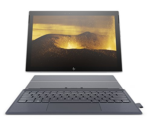 HP Envy x2 12-inch Detachable Laptop, Qualcomm Snapdragon Processor, 4 GB RAM, 128 GB Universal Flash Storage, Windows 10 Home in S Mode (12-e068ms, Natural Silver w/ Oxford Blue)