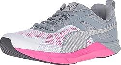 PUMA Women's Propel Wn's Running Shoe, Periscope/Puma Black/Puma White, 6 M US