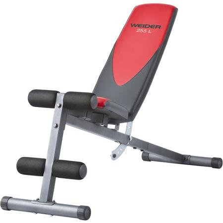 Weider Pro 225 L Bench Durable Construction by Weider