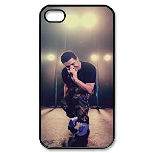 taoyix diy C-EUR Customized Print Drake Pattern Back Case for iPhone 4/4S