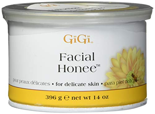 Facial Honee Wax - GiGi Facial Honee For Delicate Skin, 14 Ounce