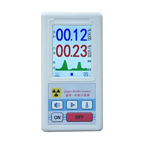 Geigerzähler Nuklearer Strahlung Detektor Mit LCD- Anzeige, Beta-Gamma-Röntgentester radioaktiver Detektor, Tragbarer Dosimeter, Detektor-Marmorprüfgerät