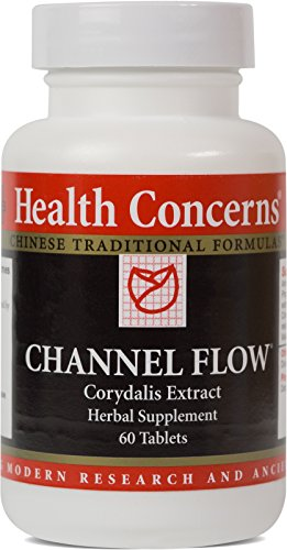 Health Concerns – Channel Flow – Corydalis Extract Herbal Supplement – Modified Huo Luo Xiao Ling Dan – 60 Tablets