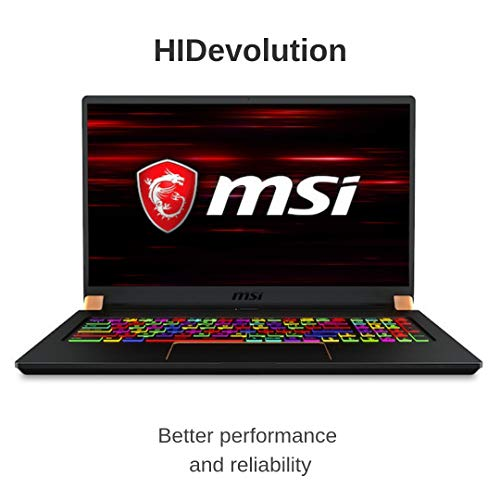 Compare HIDevolution MSI GS75 9SF (MS-GS75248-HID5-US) vs other laptops