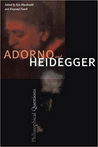 Adorno and heidegger philosophical questions iain macdonald adorno and heidegger philosophical questions fandeluxe Gallery