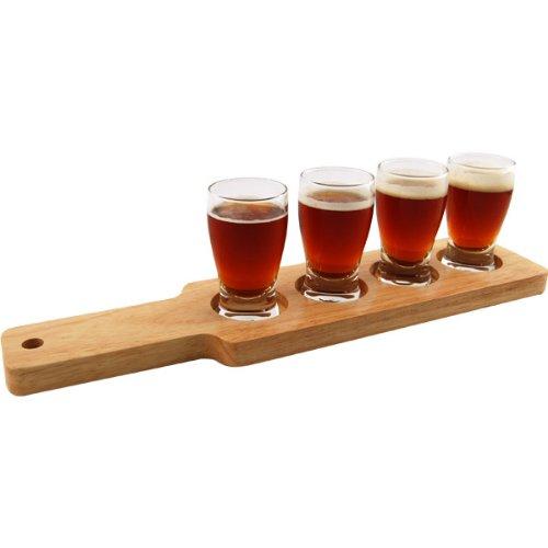 Beer Tasting Serving Set Glasses