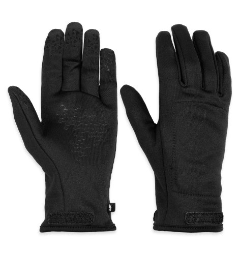 Outdoor Research Women's Arete Gloves, Black/Charcoal, Medium