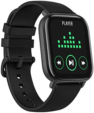 AMATAGE Smart Watch for Android Phones iPhone for Men Women, Fitness Tracker Watch with Heart Rate Monitor , Waterproof Activity Tracker with Sleep Monitor(Black) 41sScsLHiTL