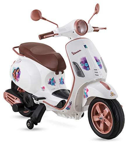 Kid Trax Disney Princess Vespa Scooter, 6V Ride-On Toy