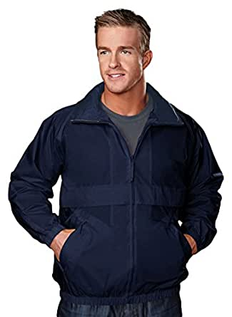 TRM Men's Highland Windproof/Water Resistant Shell Jacket