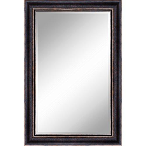 """Y Decor ZM2436BG 24 X 36 Bronze Gold 1"""" Bevel with 3.5"""" Frame Accent Mirror"""