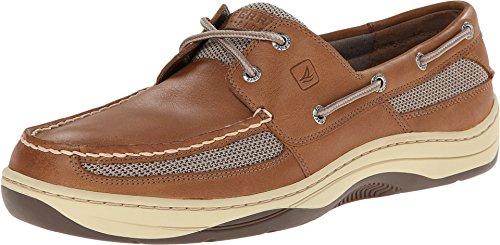SPERRY Men's, Tarpon 2 Eye Boat Shoe Dark TAN 10.5 - Eye Moc 2