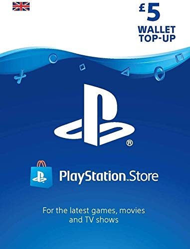PlayStation PSN Card 5 GBP Wallet Top Up | PS5/PS4/PS3 | PSN Download Code – UK account