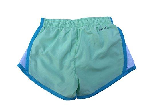 Pantalones Cortos Para Correr Nike Girls Dry Tempo Fresh Mint (267358-e5c) / Blanco / Blanco