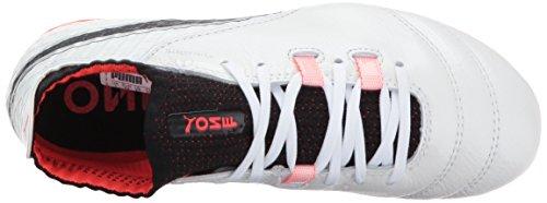 1 puma fiery White Fg 17 Chaussures Kids One Coral Puma Black 1qFwOHx