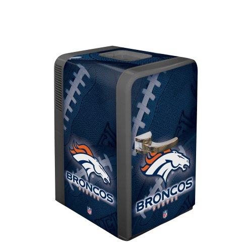 NFL Denver Broncos Portable Party Fridge, 15 Quarts]()