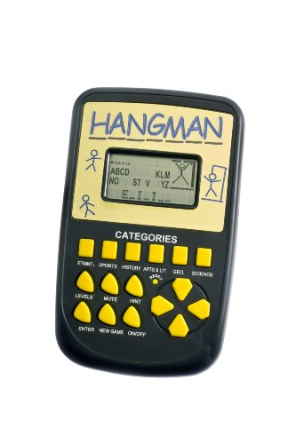 Pocket Arcade Electronic Hangman Game ()