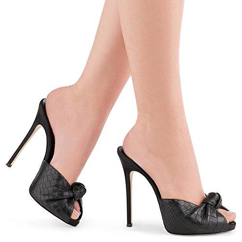 Chaussures L aiguille Printemps Hauts à En YC Talon PU Talons Et De black Femmes SoiréE Pour De Chaussures Stiletto wxz4wrqa