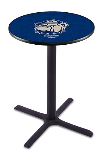 Holland Bar Stool L211B Georgetown University Officially Licensed Pub Table, 28
