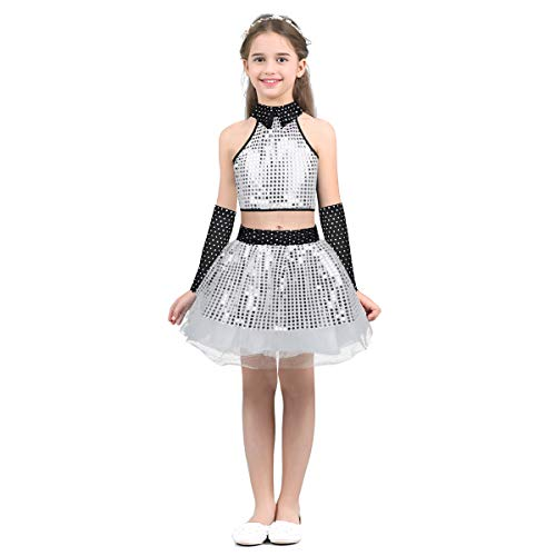 ranrann Girls Jazz Modern Street Dance Outfits