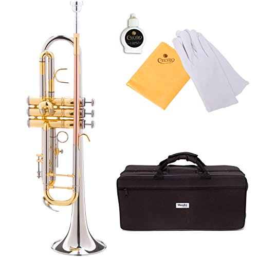 mendini-mtt-30cn-nickel-plated-intermediate-b-flat-trumpet