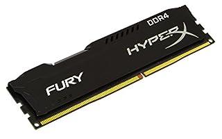 HyperX Kingston Technology Fury Black 8 GB 2133 MHz CL14 DIMM DDR4 Internal Memory (HX421C14FB2/8) (B01D8U27YU) | Amazon price tracker / tracking, Amazon price history charts, Amazon price watches, Amazon price drop alerts