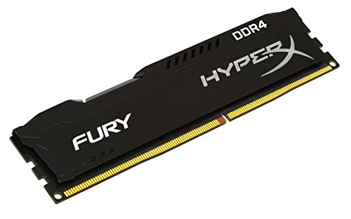 Kingston Technology HyperX FURY Black 8 GB 2133 MHz CL14 DIMM DDR4 Internal Memory (HX421C14FB2/8)