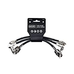 MXR Patch Cable, Black, 6 Inch (3PDCP06)...