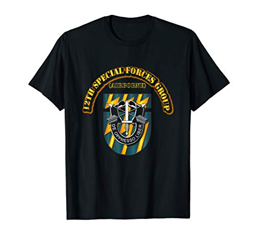 - 12th Special Forces Group (Airborne) Tshirt