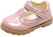 PPXID Toddler Little Girl's British Retro T-Bar Princess Oxford Shoes School Uniform S
