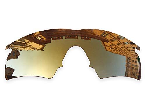 (Vonxyz Lenses Replacement for Oakley M Frame Hybrid Sunglass - Bronze MirrorCoat)