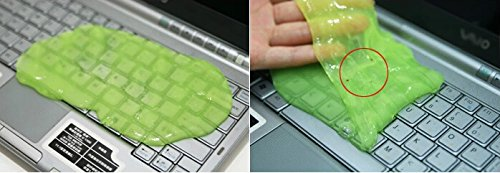 Domire Multi-function Keyboard Cleaning Gel Sticky Jelly Computer Dust Remover Magic and Fun Random Color