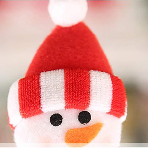 Libertroy Guanti da Cucina per Frigorifero di Natale Natale Decorazioni