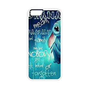 """Hjqi - DIY Ohana Quote Cover Case, Ohana Quote Customized Case for iPhone6 4.7"""""""