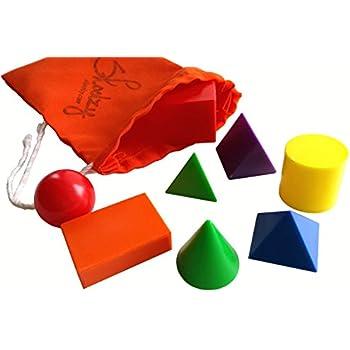 Amazon.com: Basic Geometric Solids (6 pieces): Toys & Games
