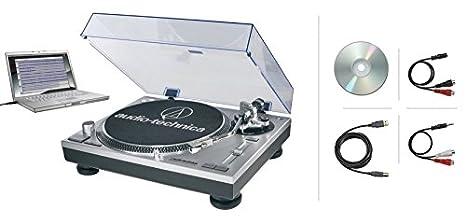 Audio Technica at de lp120usbc - Tocadiscos/Turntable ...