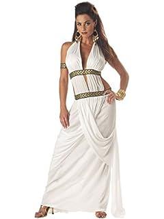 Amazon.com: Leg Avenue de la mujer Diosa griega Oro Bodysuit ...