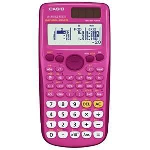 Casio Genuine Scientific Calculator Pink