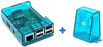 sb components Caja Azul de Raspberry Pi 2 Modelo B (y B +) con la Caja de la cámara Azul: Amazon.es: Electrónica
