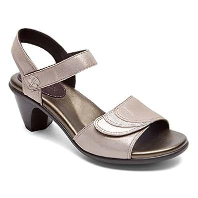 Amazon.com | Aravon Women's Medici Heeled Sandal | Heeled Sandals