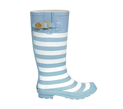 Light Blue and White Rainboots Initial J 4vWKsbDt3c