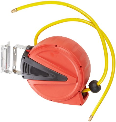 Apache 99023409 Auto-Rewind, Poly Air Hose Reel with 3/8