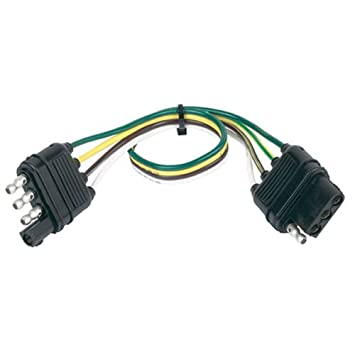 Amazon.com: Hopkins 48145 4 Wire Flat Extension, 12\