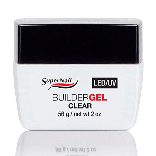 Supernail LED/UV Builder Clear Gel, 2 Fluid Ounce
