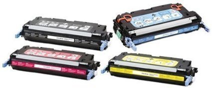 A PLUS Toner Compatible Replacement for HP 3800/503A, Q6470A, Q7581A, Q7582A, Q7583A for HP Color Laser Jet 3800, 3800N, 3800DN Series Printers (Black, Cyan, Magenta, Yellow) (3800 Series Color Laser Printers)