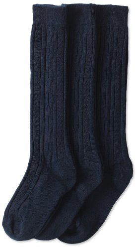 Jefferies Socks Cable Knit Knee High Three Pack product image