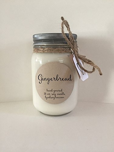 Gift for Her House Warming Gift Mini Mason Jar Soy Candle Peppermint Twist Soy Wax Candle 4 Oz Soy Candle